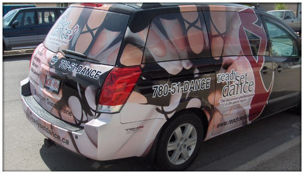 Dance studio van
