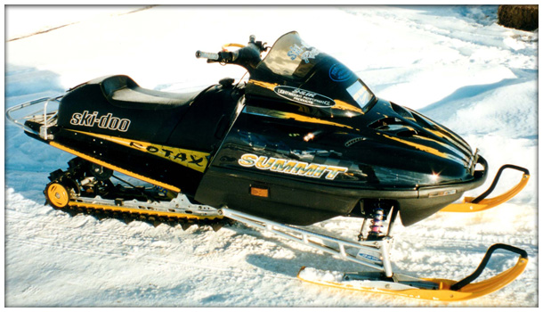 snowmobile decal